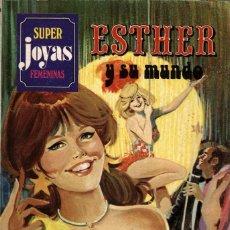 Tebeos: ESTHER Y SU MUNDO. SUPER JOYAS FEMENINAS-23, DE PURITA CAMPOS. PRIMERA EDICIÓN (BRUGUERA, 1981). Lote 116231863