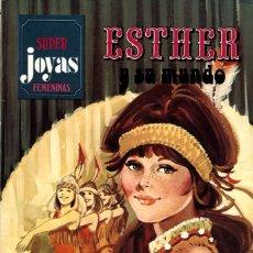 Tebeos: ESTHER Y SU MUNDO. SUPER JOYAS FEMENINAS-15, DE PURITA CAMPOS. PRIMERA EDICIÓN (BRUGUERA, 1979). Lote 116232047