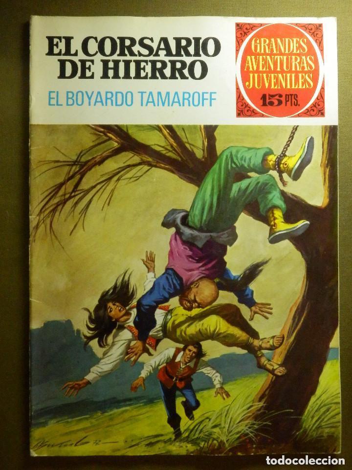 EL CORSARIO DE HIERRO- GRANDES AVENTURAS JUVENILES- Nº 37 -EL BOYARDO TAMAROFF-1972-BUENO-LEAN-2412 (Tebeos y Comics - Bruguera - Corsario de Hierro)