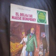 Tebeos: JOYAS LITERARIAS JUVENILES Nº 216. EL RELOJ DE MAESE HUMPHREY. 1ª EDICIÓN. 1979.. Lote 133860290