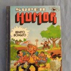 Tebeos: SUPER HUMOR BENITO BONIATO Nº 2 BRUGUERA 1ª EDICION AÑO 1985 ORIGINAL. Lote 116374479
