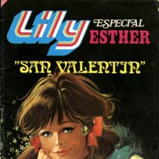 Tebeos: LILY ESPECIAL ESTHER-21: SAN VALENTÍN (BRUGUERA, 1982). Lote 116388623