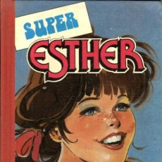 Tebeos: SUPER ESTHER-5 (BRUGUERA, 1983) PRIMERA EDICIÓN. TAPA DURA.. Lote 116388811