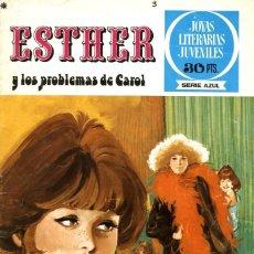 Tebeos: ESTHER Y LOS PROBLEMAS DE CAROL, DE PURITA CAMPOS. JOYAS LITERARIAS-3 (BRUGUERA, 1978). Lote 116389683
