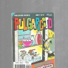 Tebeos: PUBLICACION INFANTIL. PULGARCITO. AÑO II. Nº 81. EDITORIAL BRUGUERA. Lote 116442323