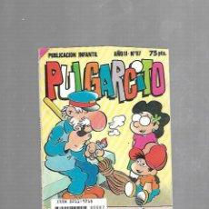 Tebeos: PUBLICACION INFANTIL. PULGARCITO. AÑO III. Nº 87. EDITORIAL BRUGUERA. Lote 116442419