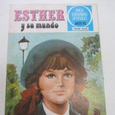 Tebeos: JOYAS LITERARIAS JUVENILES SERIE AZUL ESTHER Y SU MUNDO. Nº 1. BRUGUERA. 2ª EDIC SDX11. Lote 116525963