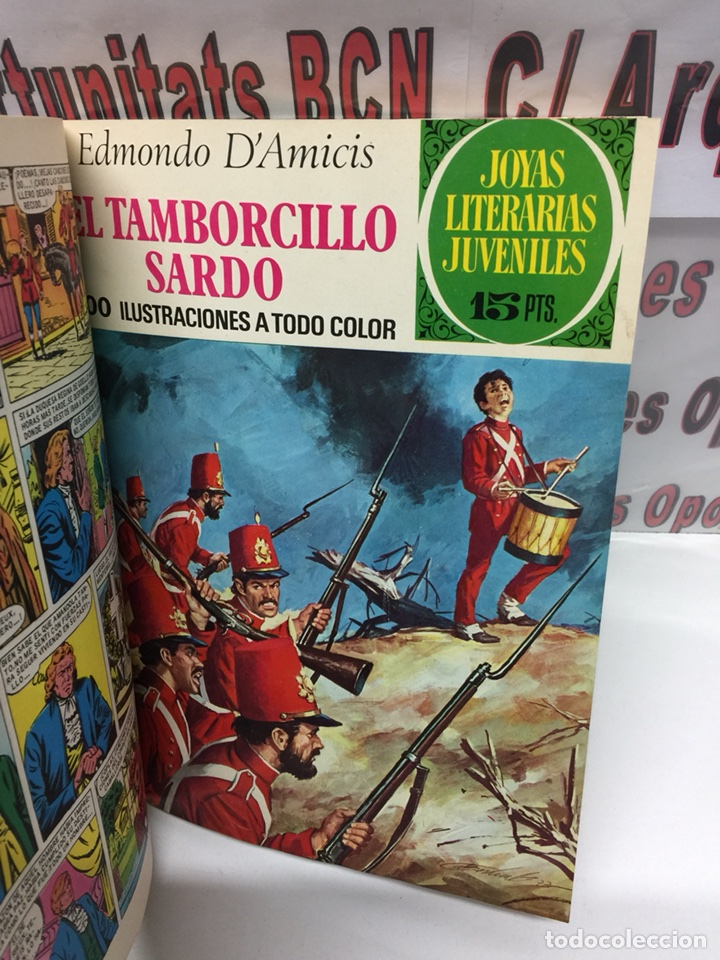 Tebeos: Tomo único Joyas Literarias 11 números Bruguera - Foto 6 - 116533146