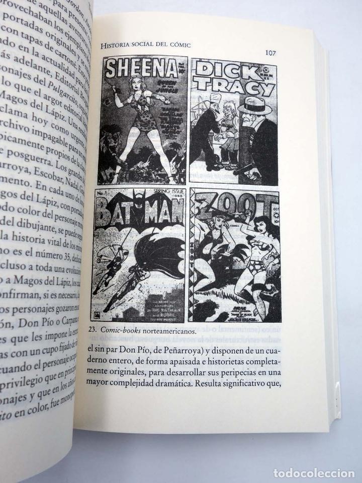 Tebeos: HISTORIA SOCIAL DEL CÓMIC (Terenci Moix) Bruguera Ensayo, 2007. OFRT antes 17,9E - Foto 10 - 261154970