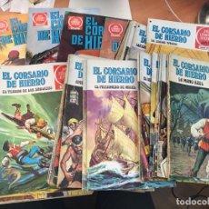 Tebeos: EL CORSARIO DE HIERRO COLECCION COMPLETA PRIMERA EDICIÓN JOYAS LITERARIAS SERIE ROJA BRUGUERA (COI65. Lote 116624703