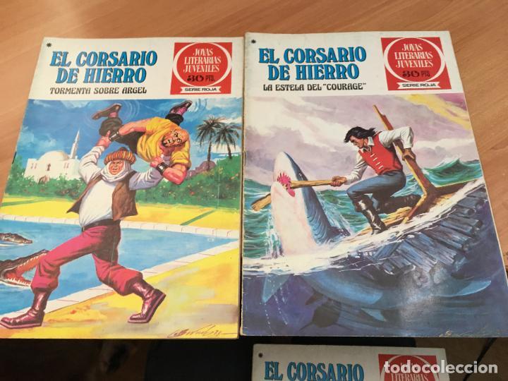Tebeos: EL CORSARIO DE HIERRO COLECCION COMPLETA 1ª EDICIÓN JOYAS LITERARIAS SERIE ROJA BRUGUERA COIB111 - Foto 8 - 116624703