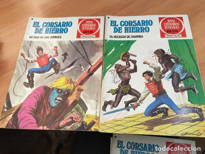 Tebeos: EL CORSARIO DE HIERRO COLECCION COMPLETA 1ª EDICIÓN JOYAS LITERARIAS SERIE ROJA BRUGUERA COIB111 - Foto 13 - 116624703