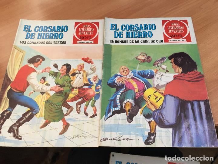 Tebeos: EL CORSARIO DE HIERRO COLECCION COMPLETA 1ª EDICIÓN JOYAS LITERARIAS SERIE ROJA BRUGUERA COIB111 - Foto 18 - 116624703