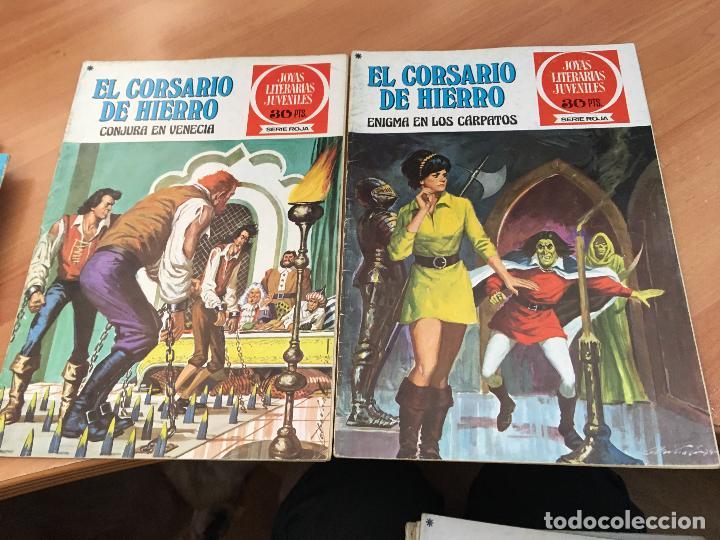 Tebeos: EL CORSARIO DE HIERRO COLECCION COMPLETA 1ª EDICIÓN JOYAS LITERARIAS SERIE ROJA BRUGUERA COIB111 - Foto 22 - 116624703