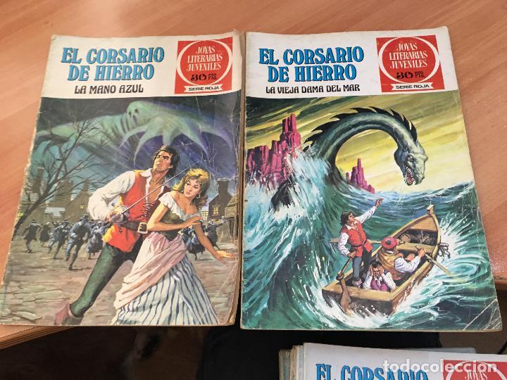 Tebeos: EL CORSARIO DE HIERRO COLECCION COMPLETA 1ª EDICIÓN JOYAS LITERARIAS SERIE ROJA BRUGUERA COIB111 - Foto 31 - 116624703