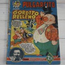 Tebeos: PULGARCITO - SERIE MAGOS DEL LÁPIZ - GORDITO RELLENO - PEÑARROLLA. Lote 116690375