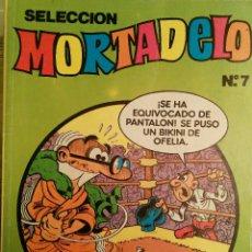 Tebeos: SELECCIÓN MORTADELO. N°7. RETAPADO.. Lote 116790636