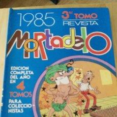 Tebeos: TOMO RECOPILATORIO REVISTA MORTADELO - 3º TOMO - Nº 234 AL 244 - EDT. BRUGUERA, 1985. INCOMPLETO,. Lote 116823635
