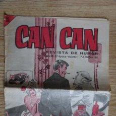 Tebeos: CAN CAN REVISTA DE HUMOR AÑO III 2ª ÉPOCA AÑO 1965 Nº 86 BRUGUERA CREACIONES EDITORIALES. Lote 116848583