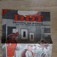 Tebeos: EL DDT REVISTA DE HUMOR AÑO XV 2ª ÉPOCA Nº 726 AÑO 1965 BRUGUERA CREACIONES EDITORIALES. Lote 116849883