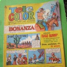 Tebeos: TELE COLOR , NUMERO 209 , BONANZA , BRUGUERA 1967. Lote 116897555