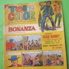 Tebeos: TELE COLOR , NUMERO 170 , BONANZA , BRUGUERA 1966. Lote 116897675