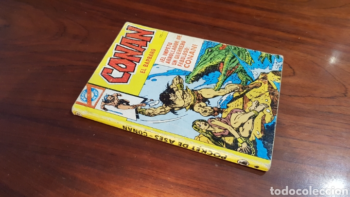 CONAN 22 BRUGUERA POCKET ASES (Tebeos y Comics - Bruguera - Otros)
