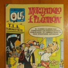 Tebeos: TEBEO - MORTADELO Y FILEMÓN - OLÉ Nº 215 - 1ª EDICIÓN 27-4-1981 - BRUGUERA - NOVEDADES EN LA T.I.A. Lote 184481752