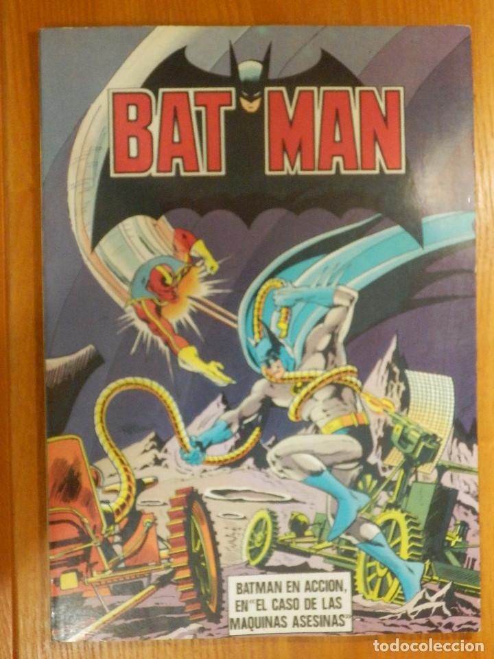 COMIC - BAT MAN - BATMAN - DC COMICS - BRUGUERA - Nº 4 - 1ª EDICIÓN 1979 - LAS MÁQUINAS ASESINAS (Tebeos y Comics - Bruguera - Otros)