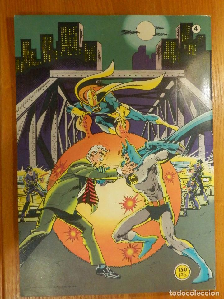 Tebeos: Comic - BAT MAN - BATMAN - DC COMICS - BRUGUERA - Nº 4 - 1ª EDICIÓN 1979 - Las máquinas asesinas - Foto 2 - 116981443