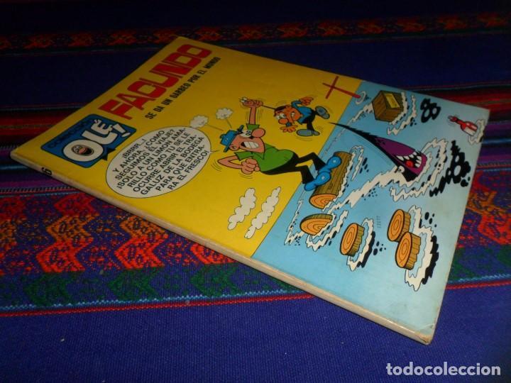 OLÉ Nº 16 FACUNDO. BRUGUERA 1ª PRIMERA EDICIÓN Nº LOMO 40 PTS. 1971. RARO Y BUEN ESTADO. (Tebeos y Comics - Bruguera - Ole)
