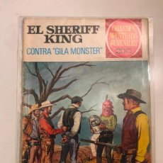Tebeos: EL SHERIFF KING Nº 24. CONTRA GILA MONSTER. BRUGUERA 1972. Lote 117040147