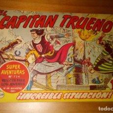 Tebeos: ORIGINAL - EL CAPITÁN TRUENO - NUMERO 339: ¡INCREÍBLE SITUACIÓN!. Lote 117245331