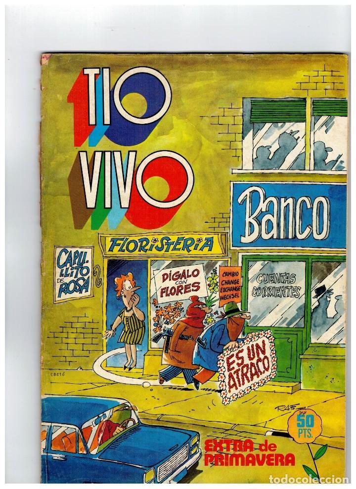 TIO VIVO EXTRA DE PRIMAVERA 1977. EN CONTRAPORTADA Nº 31 (Tebeos y Comics - Bruguera - Tio Vivo)