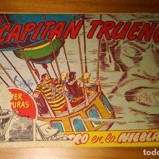 Tebeos: ORIGINAL - EL CAPITÁN TRUENO - NUMERO 370: ¡EL ROSTRO EN LA NIEBLA!. Lote 117343195