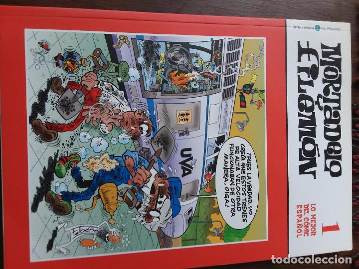 Tebeos: 14 comics de Mortadelo y Filemón. Regalo comic Spiderman del mismo formato. - Foto 2 - 117371023