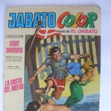 Tebeos: LA COSTA DEL MIEDO JABATO COLOR Nº 52 AÑO 1970 ( 8 PTAS ). Lote 117496007
