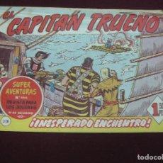 Tebeos - EL CAPITAN TRUENO Nº 318. BRUGUERA 1962. ORIGINAL. - 117516067