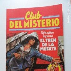 Tebeos: CLUB DEL MISTERIO BRUGUERA Nº 31 EL TREN DE LA MUERTE. Lote 117614547