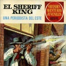 Tebeos: EL SHERIFF KING- GRANDES AVENTURAS JUVENILES - Nº 31 -UNA PERIODISTA DEL ESTE-1972-BUENO-8430. Lote 117665899