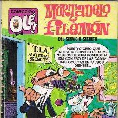 Tebeos: MORTADELO Y FILEMON DEL SERVICIO SECRETO. COLECCION OLE 116 1ª EDICION. Lote 117666743