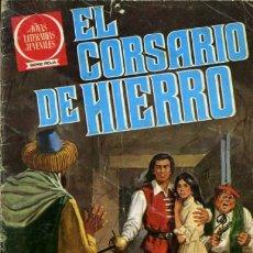 Tebeos: EL CORSARIO DE HIERRO-JOYAS LITERARIAS-SERIE ROJA- Nº 53 -EL RAPTO DE LA DONCELLA-1980-DIFÍCIL-8435. Lote 221772573