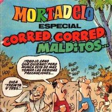 Tebeos: MORTADELO ESPECIAL Nº 195- ESPECIAL CORRED, CORRED, MALDITOS-1985-GRAN CARLOS FREIXAS-BUENO-8448. Lote 140793646