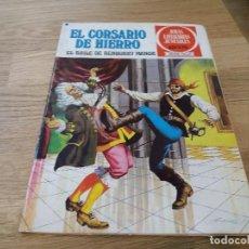 Tebeos: EL BAILE DE BENBURRY MANOR. EL CORSARIO DE HIERRO. BRUGUERA. PRIMERA EDICIÓN, 1978. N° 25.. Lote 117815643