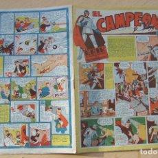 Tebeos: BRUGUERA,- EL CAMPEÓN Nº 2 1948 . Lote 117984519
