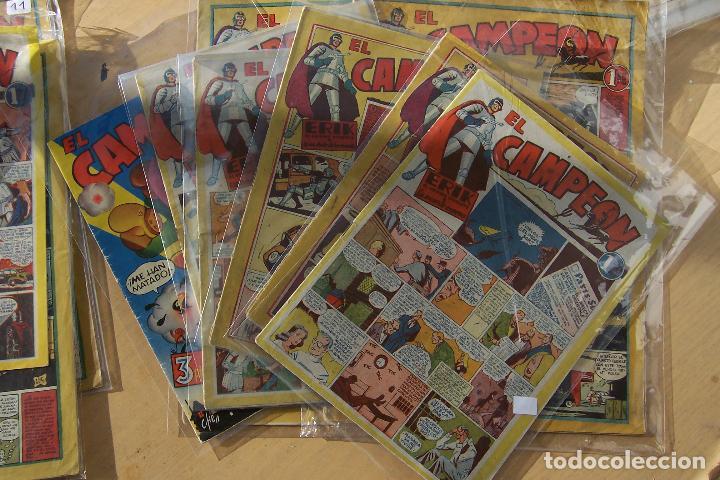 BRUGUERA,-EL CAMPEÓN Nº 1-2-3-4-5-7-8-10-11-12-13-14-15-19 Y ALMANAQUE PARA 1949 (Tebeos y Comics - Bruguera - Cuadernillos Varios)