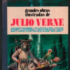 Tebeos: GRANDES OBRAS ILUSTRADAS DE JULIO VERNE TOMO 1 TAPA DURA 1ª EDICION 1977. Lote 118032963