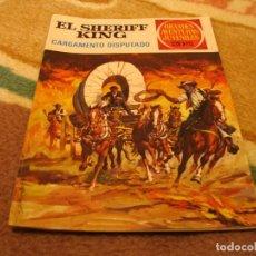 Tebeos: GRANDES AVENTURAS JUVENILES Nº 8 EL SHERIFF KING 2ª EDICIÓN CARGAMENTO DISPUTADO. Lote 118069707