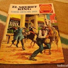 Tebeos: GRANDES AVENTURAS JUVENILES Nº 14 EL SHERIFF KING 1ª EDICIÓN CLANTON CONTRA MAC DIVER. Lote 118070915