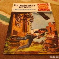 Tebeos: GRANDES AVENTURAS JUVENILES Nº 16 EL SHERIFF KING 2ª EDICIÓN LA MUERTA ESPERA EN CRUMBLE CITY. Lote 118071183